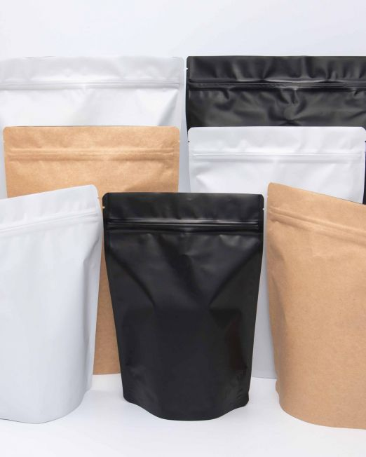3 Colors and 3 Sizes Stand-up pouch