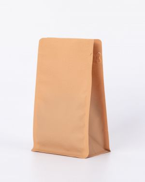 1KG Recyclable Box Bottom Pouch